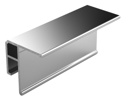 Profilé invisible aluminium Universel