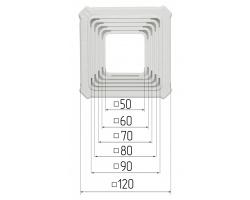 Chaises de spots carré  50-90